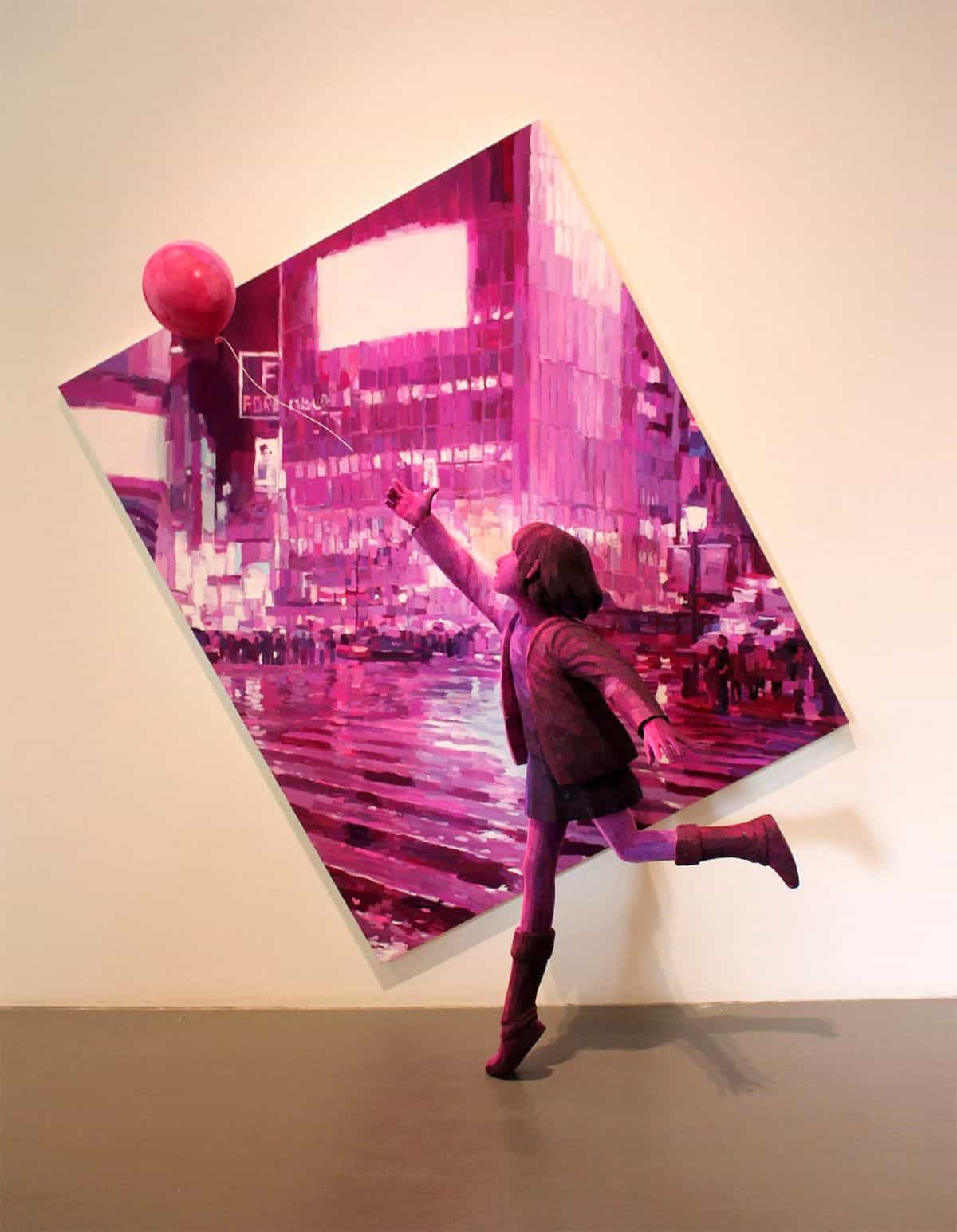 Paintings and Sculpture Blend: Dreamy World of Artist Shintaro Ohata