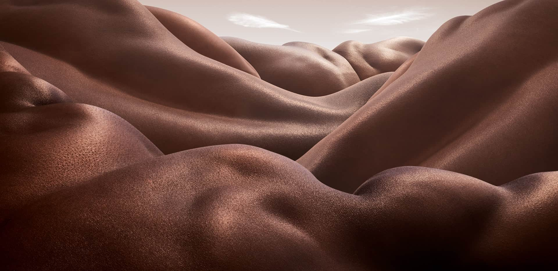 Bodyscape by Carl Warner: The Landscape of the Human Body