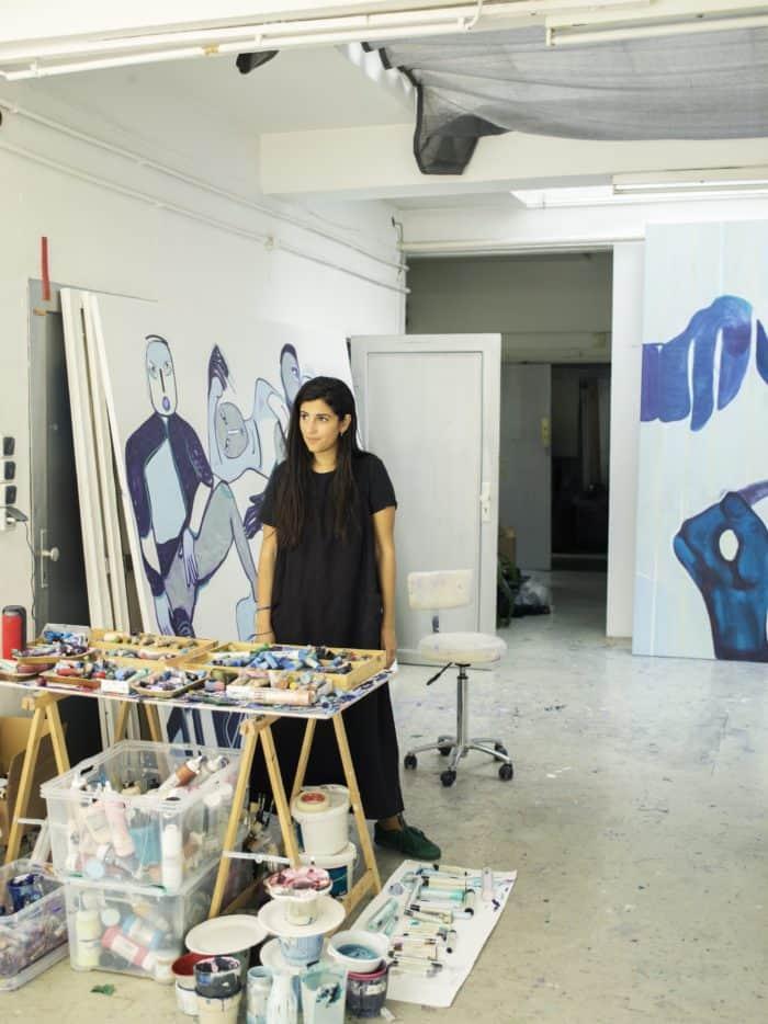 Paintings of Melike Kara: Ambiguous Identity