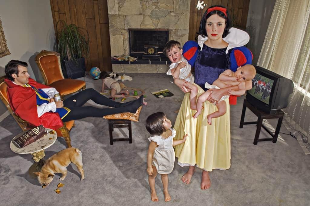 Dina Goldstein Pop-Surrealist Photographer: Reimagining The Stories We've Been Told